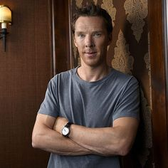 Benedict - Good grief...look at those arms...*sigh*