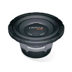 """Hertz ES-200.5 8"""" Subwoofer 600w Peak 200w RMS. The perfect choice for solid, powerful bass in perfect harmony with improved vehicle integration. £99.99 in store."""