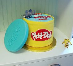 Playdough Cake Decorating Kit : play doh b-day cake Little Girl B-day Party Ideas ...