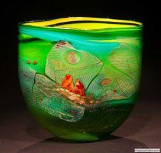 chris hawthorne glass | Found on hodgellgallery.com