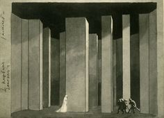 "Edward Gordon Craig ""Stage design"""