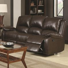 Variety of stylish leather sofa, motion sofa, power sofa, reclining sofas and power motion sofas only at Jennifer Furniture. Leather Reclining Sofa, Leather Recliner, Reclining Sectional, Leather Sofas, Home Design, Design Ideas, Living Room Sets, Living Room Furniture, Furniture Decor