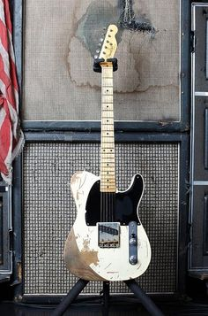 Guitar & Amp Collection / Jeff Beck's Telecaster Replica