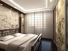 Bedroom Japanese Inspired Designs Ideas