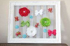 BEAUtiful mess.: Saw it. Pinned it. Did it. - DIY Bow Holder