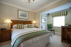 Standard accommodation at Goldsborough Hall. Image by Peter Boyd Photography