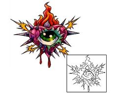 8698afa92 This Heart tattoo design from our For Women tattoo category was created by  David Bollt.