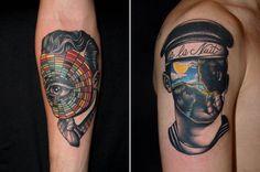 Pietro Sedda's Awesomely Surreal Tattoos | MASHKULTURE