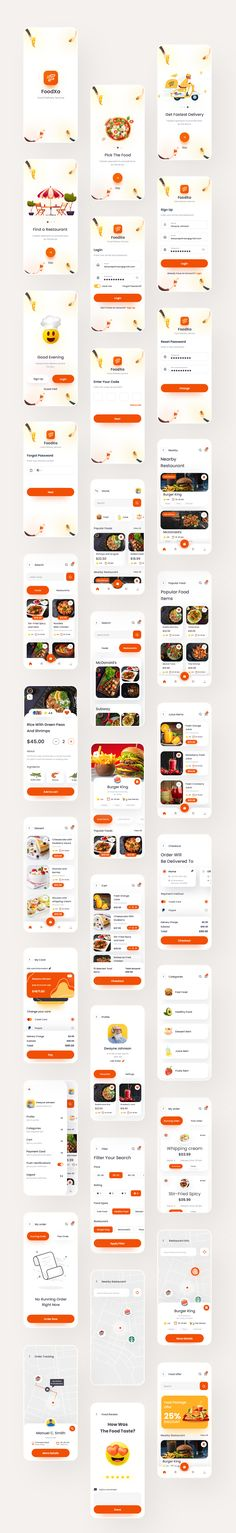 FoodKo is an iOS UI Kit made to help to help you find the best restaurant in your city. A food delivery app that delivers meals at your doorstep in very little time and with the latest packaging. Users can also track their orders in real-time and for their convenience, notify the delivery agent.   The app contains 80+ high-quality screens for iOS with iPhone X screen size (375px X 812px) ready to use.   This modern design template is easy to customize, making it even easier for you to design…