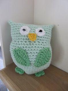 Crochet owl (pattern not in English)
