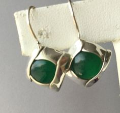 21OFF Green Onyx Earrings Green Onyx by EarthKarmaJewellery