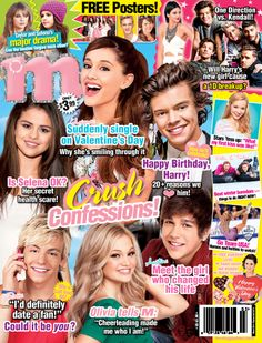 Monthly Teen Magazine Back Issues in English Austin Mahone, Ross Lynch, Now Magazine, Magazine Covers, Selena Gomez Poster, Ariana Grande, One Direction, Nicole By Opi, Popular Magazine