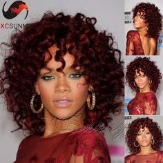 130.00$ Buy now - http://ali3k2.worldwells.pw/go.php?t=32482319304 - 8A Grade Brazilian Virgin Human Hair Curly Wig Lace Front Human Hair Wigs 99j Color Glueless Full Lace Wigs For Christmas