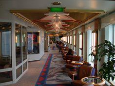 Interior from a #Hurtigruten ship. Photo by bestnorwegian.com