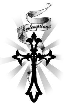 black rosy cross | black and grey sleeve tattoo design Miguel Angel Custom Tattoo Artist ...