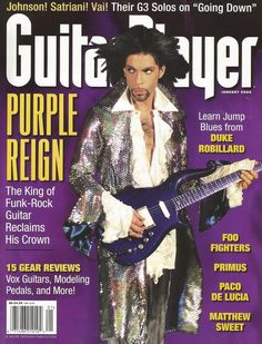 prince playing guitar | He sure can play a mean guitar | Prince