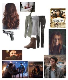 """Scorch Trials"" by masmas21 ❤ liked on Polyvore featuring Balmain, Greg Lauren and Charlotte Russe"
