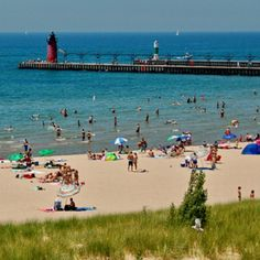 North Beach in South Haven, MI... 45 minutes from us. :)