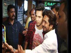 Varun Dhawan visits Gaiety Galaxy Theatre for MAIN TERA HERO.