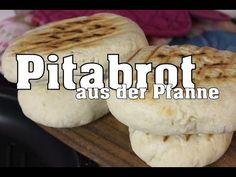 Rezept: Fladenbrot für Döner | Ahmet Kocht | türkisch backen | Folge 33 - YouTube