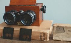 Vintage French Stereo Viewer and Slides, $250 at Brooklyn Art Library.