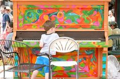 Fun, handpainted piano, that would be way better than the ugliness that is our piano now!