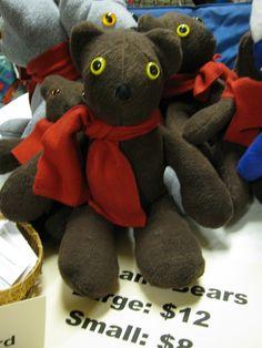 stuffed toy bears
