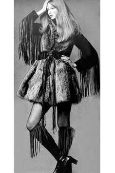 Also don't want to leave out the fringe! Photo by Alexis Waldeck, 1970.