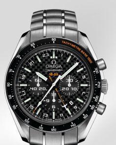 オメガ・ウォッチ: Speedmaster HB-SIA Co-Axial GMT Chronograph - チタン & チタン - 321.90.44.52.01.001