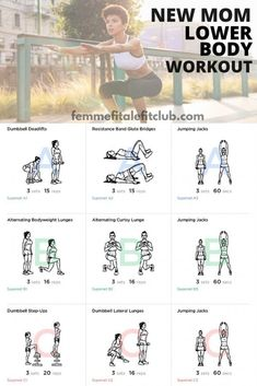 Can't make it to mommy and me fitness classes?  Then try this lower body workout because as a new mom you need strength in your lower body to help lift babies and small children. This workout helps build strength and shape your legs, hamstrings, glutes and thighs. #momsintofitness #exercise #postpartum #postnatal #momsfitness #newmommyworkout #newmomworkout #lowerbodyworkout #bootyworkout 5 Day Workout Plan, New Mom Workout, After Baby Workout, 5 Day Workouts, Post Baby Workout, Post Pregnancy Workout, Insanity Workout, At Home Workouts, Workout Plans