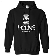 Keep Calm and let MOLINE handle it - #tee times #dress shirts for men. ORDER HERE => https://www.sunfrog.com/Valentines/Keep-Calm-and-let-MOLINE-handle-it.html?id=60505