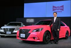 Toyota Crown (Foto: YOSHIKAZU TSUNO / AFP)