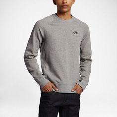 NWT Nike SB Everett Crew DWR 829385 063 Gray Long Sleeve Sweatshirt SZ M Clothing, Shoes & Accessories:Men's Clothing:Athletic Apparel #nike #jordan #shoes houseofnike.com $65.00