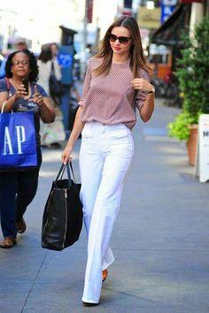 Looks con pantalones blancos, ¡toma nota!