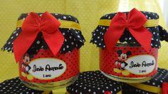Potinho para doces - Festa Mickey | Mais do que uma lembrancinha | 3079A1 - Elo7