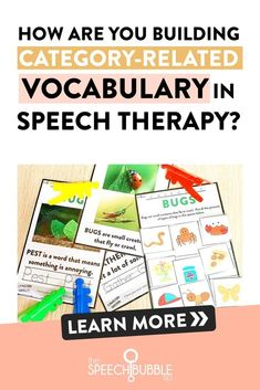 Are you building vocabulary while teaching the skill of categorizing in your speech therapy sessions? This SLP-tested resource will help! #speechpathologist #speechies #slp #speechtherapy #slpeeps #slplife #speechpathology #speechlanguagepathology #speechlanguagepathologist #schoolslp