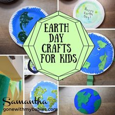 to celebrate, let's get crafty! We've got some fun activities to help you get in the spirit this year. Check out the crafts & pick a few to test out! Earth Day Activities, Activities For Kids, Teaching Calendar, Easy Crafts, Crafts For Kids, Earth Day Crafts, Happy Earth, Games For Toddlers, Happy Day