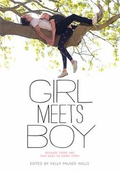 """Girl Meets Boy edited by Kelly Milner Halls.  Short stories written by twelve of today's YA authors.  Each story has two parts; one from the female point-of-view written by a femal author and the other from the male's POV written by a male author.  A great way for teens to see """"both sides of the story.""""  Each story introduces a different scenario to typical ya romance."""