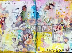 How to Create Art Journal Pages - Snapguide