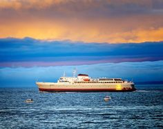 The CoHo ferry going to Port Angeles