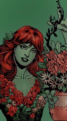 Poison Ivy Dc Comics, Poison Ivy Batman, Harley Quinn Comic, Character Wallpaper, Comics Girls, Gotham City, Catwoman, Bat Family, Bad Girls