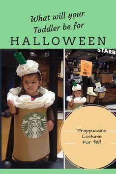 Fun Unique Toddler Costume! DIY Starbucks Kids Costume!