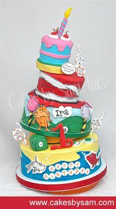Tremendous 191 Best Dr Seuss Cakes Images Cupcake Cakes Dr Seuss Cake Cake Funny Birthday Cards Online Alyptdamsfinfo