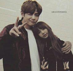 hope u like it 💑💜 K Pop, Taehyung, Kpop Couples, Purple Love, Blackpink And Bts, Ulzzang Couple, My Photos, Relationship, Fan Art