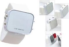 Mirror Men Lady LED Digital Sport Unisex Watch Gift Jelly(Only White Now) --- http://www.amazon.com/Mirror-Digital-Sport-Unisex-Watch/dp/B004UJOSYG/?tag=wwwfastlane07-20