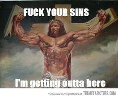 Badass Jesus