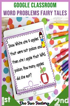Addition and Subtraction Word Problems 2nd Grade Activities, Rhyming Activities, Teacher Resources, Classroom Resources, Teaching Ideas, Classroom Ideas, Home Learning, Fun Learning, The Fun Factory