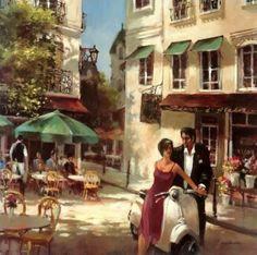 Brent Heighton 1954   Romantic Evening
