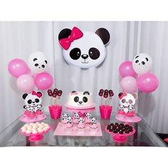 44 Ideas baby shower ides decoracion panda for 2020 Panda Themed Party, Panda Birthday Party, Panda Party, Bear Party, Diy Birthday, Birthday Party Decorations, Party Themes, Birthday Parties, Panda Baby Showers