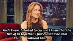 john krasinski and jenna fischer best friends   Jenna Fischer Says John Krasinski Is The Only Jim For Her  I absolutely adore how Jenna talks about John and her attitude about him and both their real life and fictional relationships